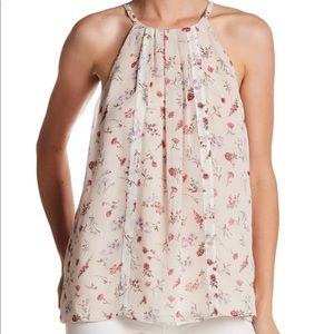 Joie Silk Floral Tank Top XS